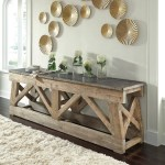 Marbella Stone Top Console Table