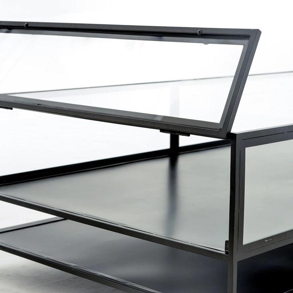 shadow box coffee table
