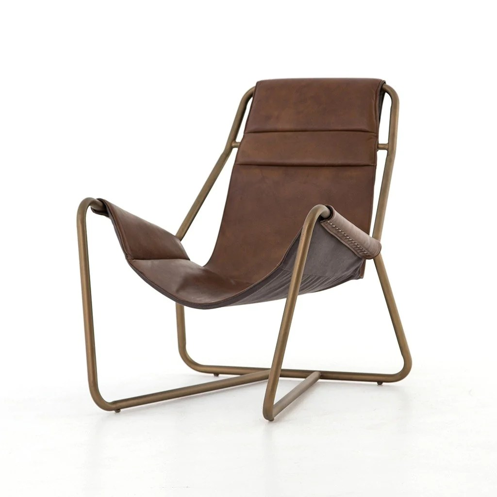 Modern Leather Chairs Vera Chair Patina Brown