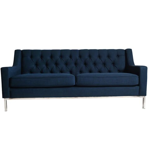 french linen tufted sofa sectional black friday deals chairs sofas daly house lifestyle homewares navy