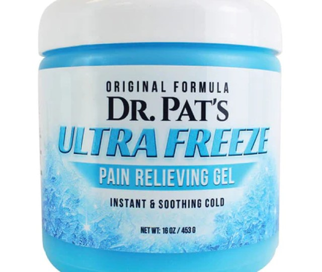 Pain Relief Cream By Dr Pats Ultra Freeze