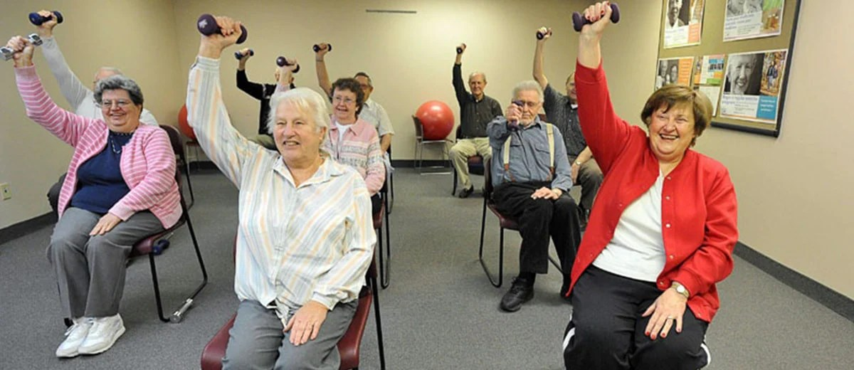 16 Chair Exercises for Seniors  How to Get Started  Vive