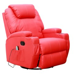 Swivel Rocking Recliner Chair Pottery Barn Patterson Kidzmotion Red Leather Gaming - Rocking, Swivel, Massag