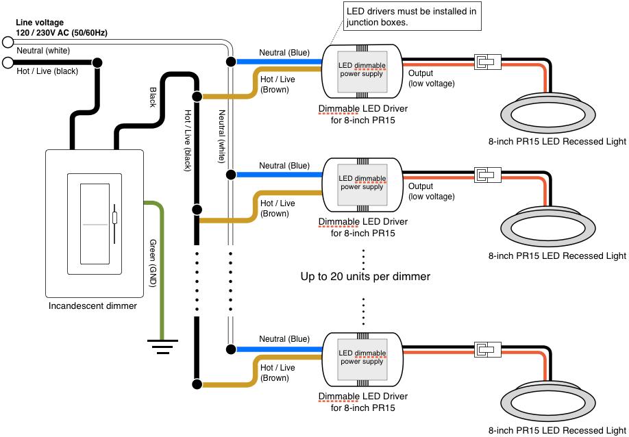 Wiring Diagram Of Led Recessed Lighting – Readingrat Net