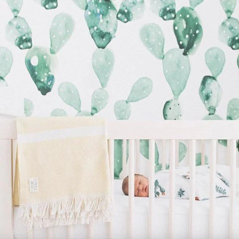 Removable Wallpaper Girls Nursery Wall Decals And Removable Wallpaper Peel And