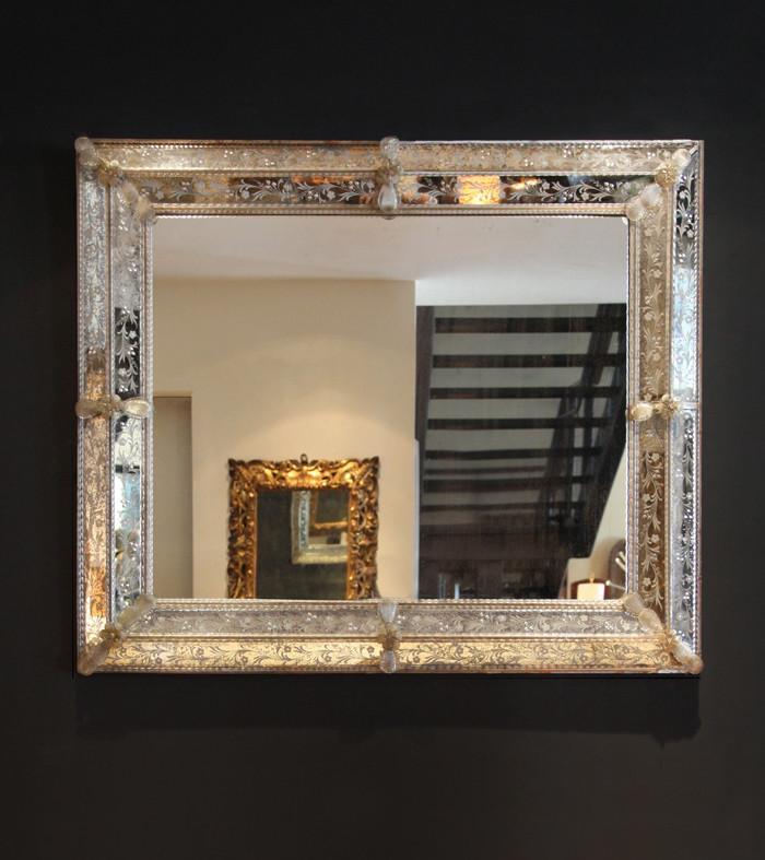 Large Venetian Mirror  Blackman Cruz