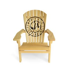 Adirondack Chair Wood Material To Cover Dining Chairs How Much Do Cost Vs Composite Slick Woody S Stock Logo
