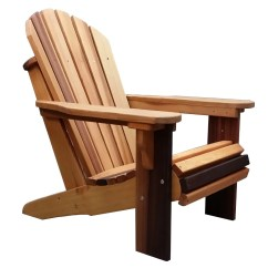 Adirondack Chair Wood Anti Gravity Massage How Much Do Chairs Cost Vs Composite Slick Cedar Woody S
