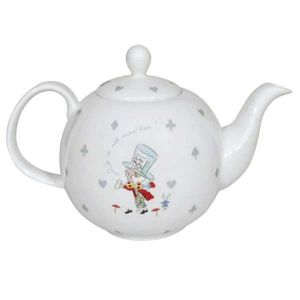 Teapot  Alice in Wonderland  Expressions Gifts  Homeware