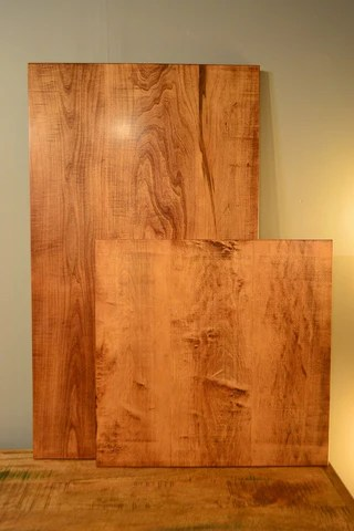 Maple Wood in Brown Mahogany Finish  RHome Furniture