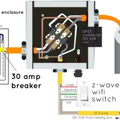 Ge Lighting Contactor Wiring Diagram Yamaha Outboard Tach All About Z Wave Contactors