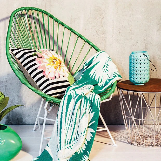 innit acapulco chair red sox bungee cactus green cord white base vancouver special