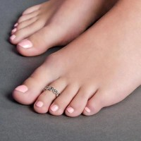 TOE RINGS  SILBERUH