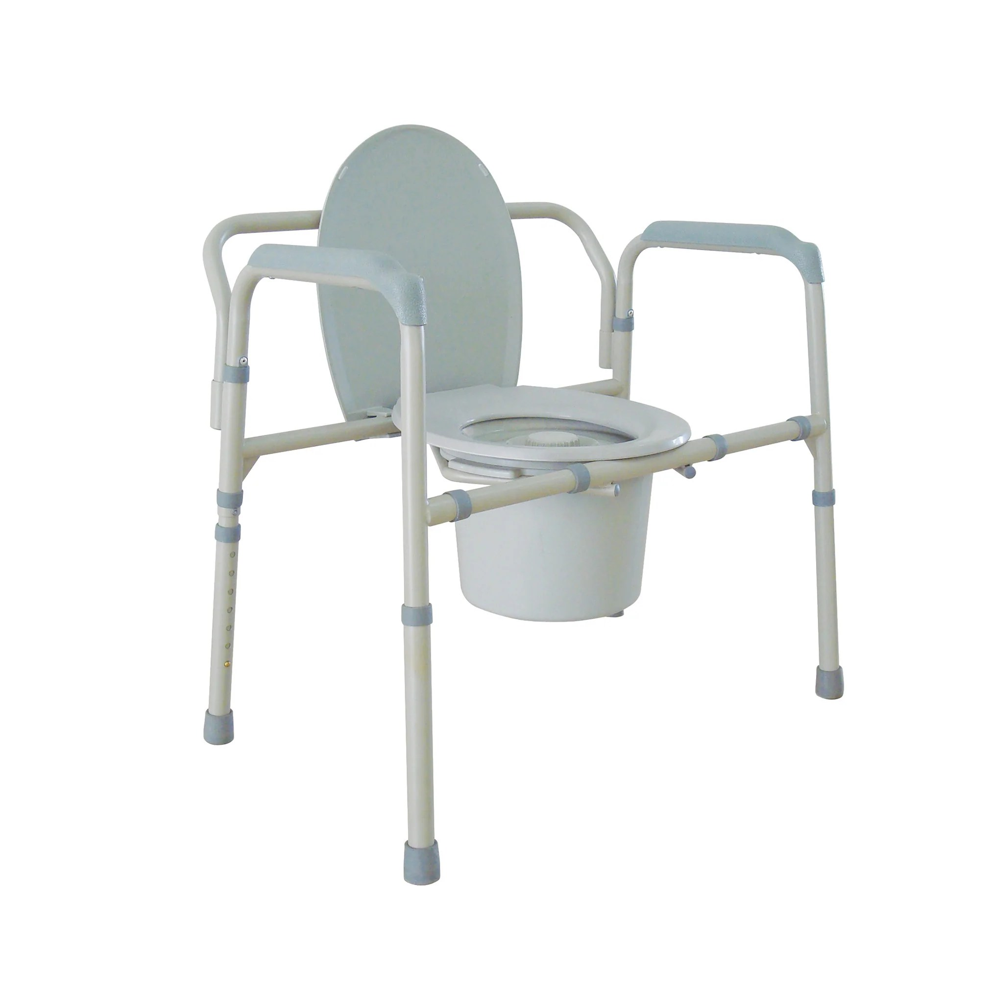 Bedside Commode Chair Heavy Duty Bariatric Folding Bedside Commode Chair Csa