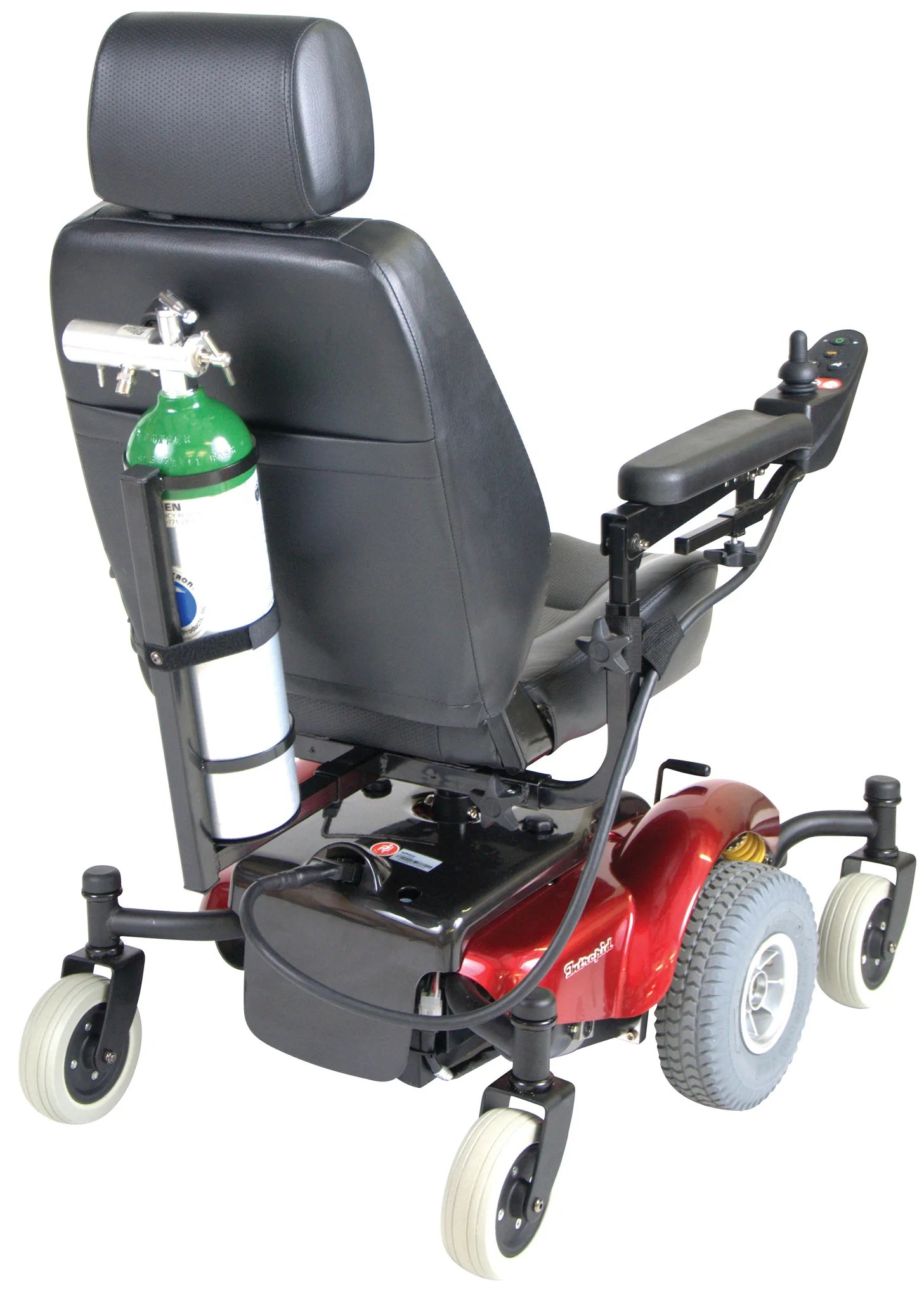 power chair accessories plus size outdoor rocking chairs mobility oxygen cylinder tank carrier csa medical