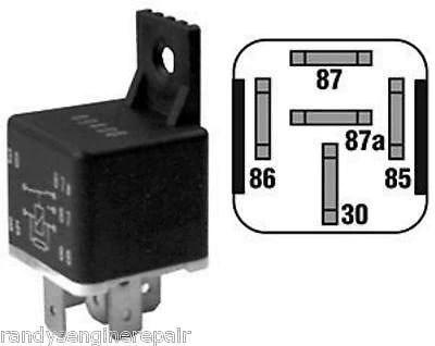 John Deere Starter Wiring Diagram Starter Relay Switch Sears Craftsman Husqvarna 109748x 917