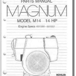 M14 Parts Diagram 1997 International 4700 Wiring Tp 2231 C New Manual For Kohler Engine Randy S Repair