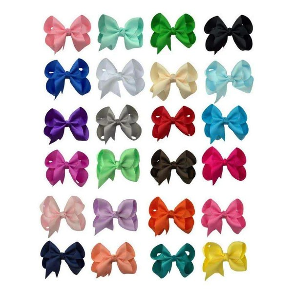 classic boutique style hair bows
