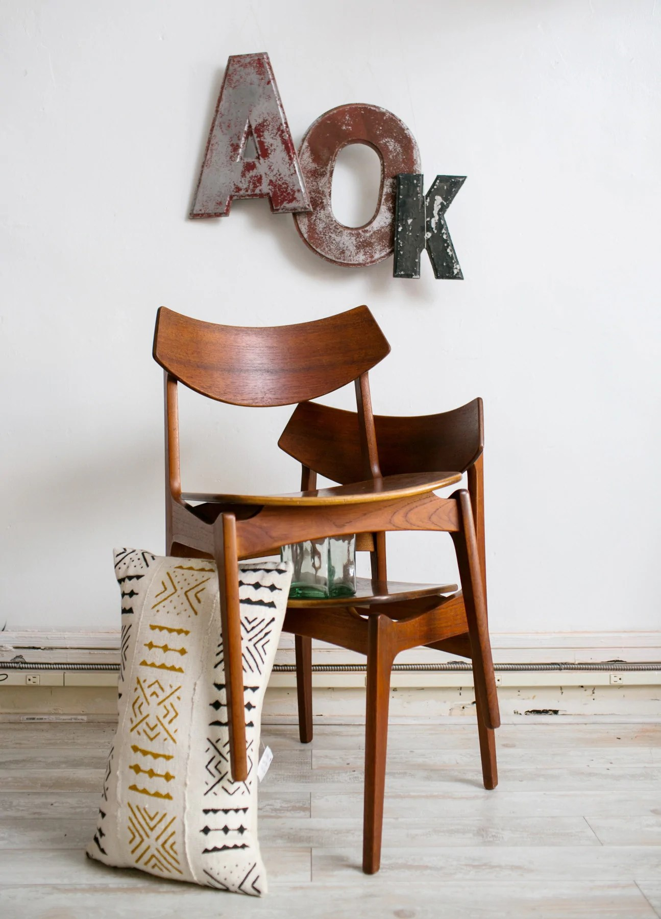 erik buck chairs dining chair upholstery fabric mid century modern teak by funden schmidt madsen wood side barefoot dwelling