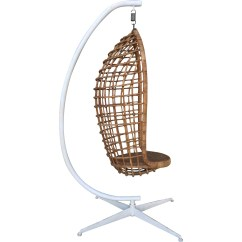 Hanging Chair Cheap Pottery Barn And A Half Vintage Rattan On Stand Barefoot Dwelling