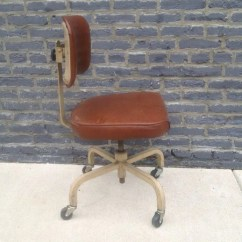 Shaw Walker Chair Macrame Stand Vintage Typing - Barefoot Dwelling