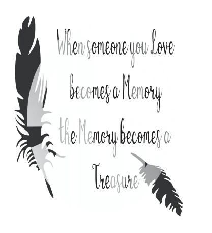 Download when someone you love becomes a memory SVG DXF PDF JPG ...
