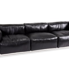 Lc3 Sofa Atlanta Hawks Sofascore Grand Comfort Black Nathan Rhodes Design Co Ltd