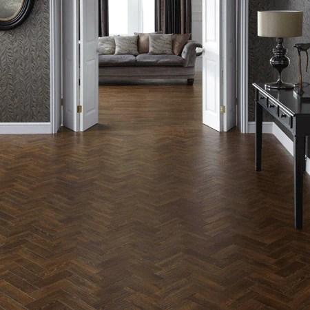 AP04 Sundown Oak Parquet Karndean Art Select  wood