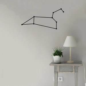 leo constellation wall decal