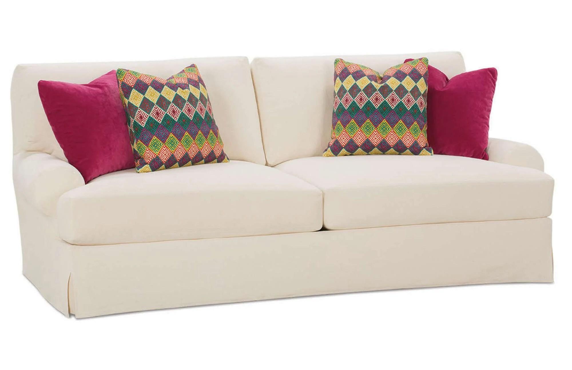 slipcovers for sofa beds sectional sofas virginia beach kagan s home rowe branson slipcover