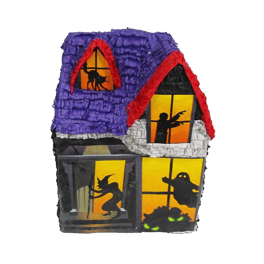 Halloween Haunted House Pinata Party Game Centerpiece