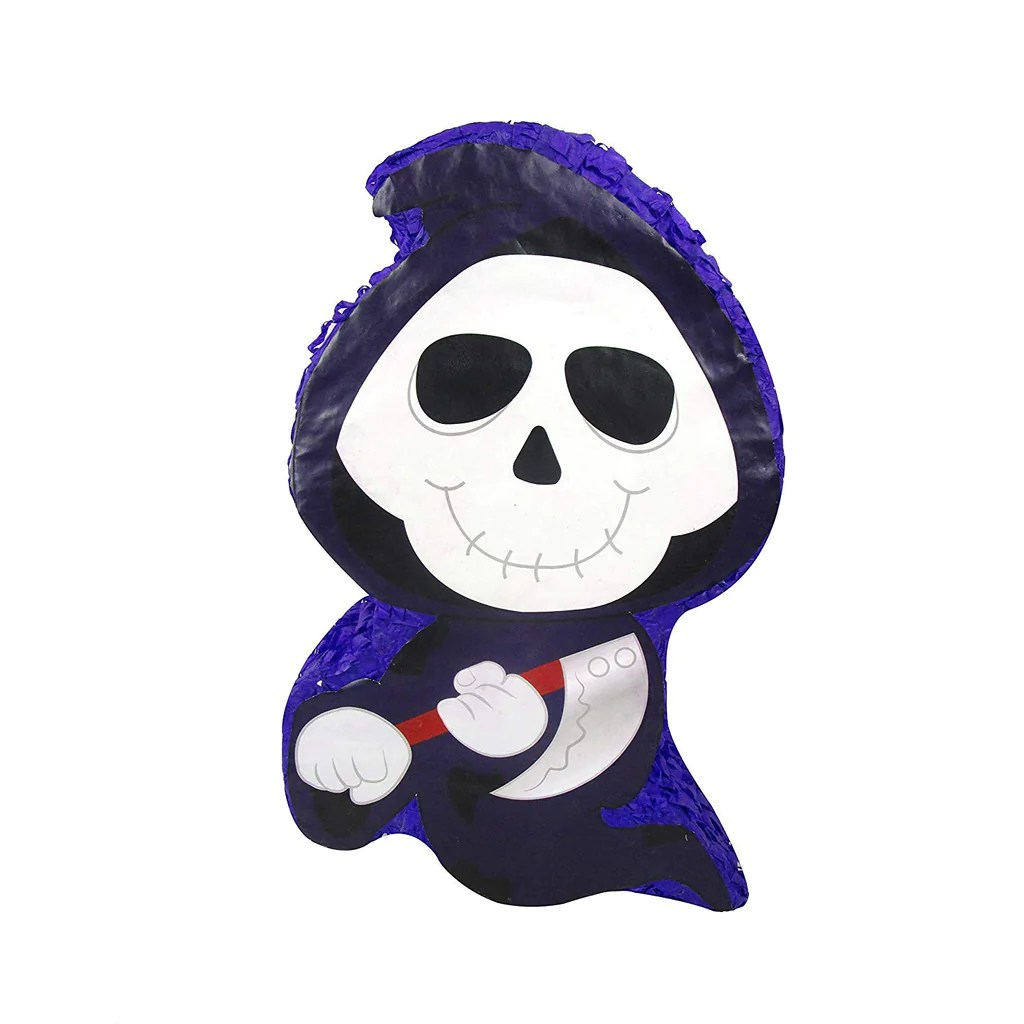 Halloween Grim Reaper Pinata Creepy