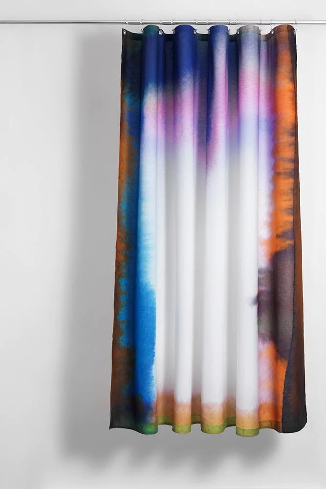 heep artist cotton shower curtain