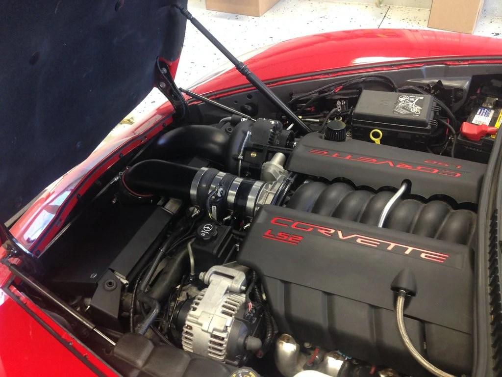 ecs 2005 2007 chevrolet c6 corvette s c system vortech superchargers 2007 corvette ls2 wiring harness [ 1024 x 768 Pixel ]