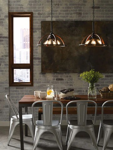 luminaire suspendu table cuisine