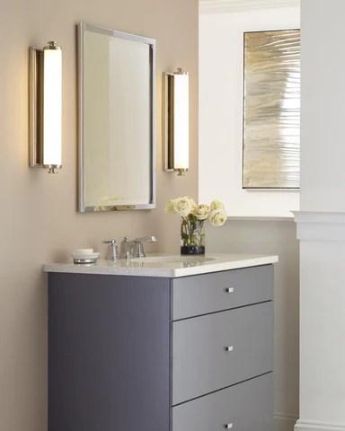 Comment Eclairer Le Miroir De Salle De Bain Choisir Le Bon Luminaire Luminaire Plus Ca
