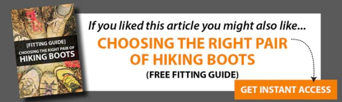 choosing hiking boots free fitting guide