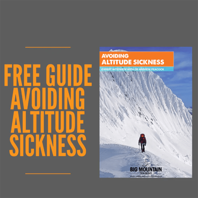 Free Guide Avoiding Altitude Sickness