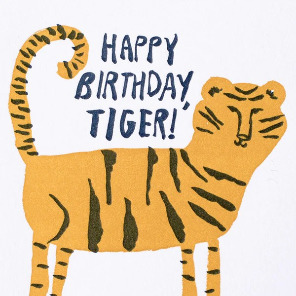 Happy Birthday Tiger – Egg Press