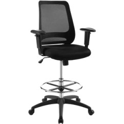 Modern Drafting Chair Amazon Uk Recliner Covers Modway Furniture Forge Mesh Eei 3196 Minimal