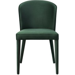 Modern Green Dining Chairs Lounge For Living Room Tov Furniture Metropolitan Forest Velvet Chair D54 Minimal