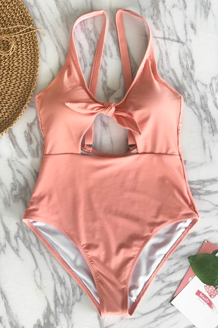 Fairy Tales Solid One-piece Swimsuit