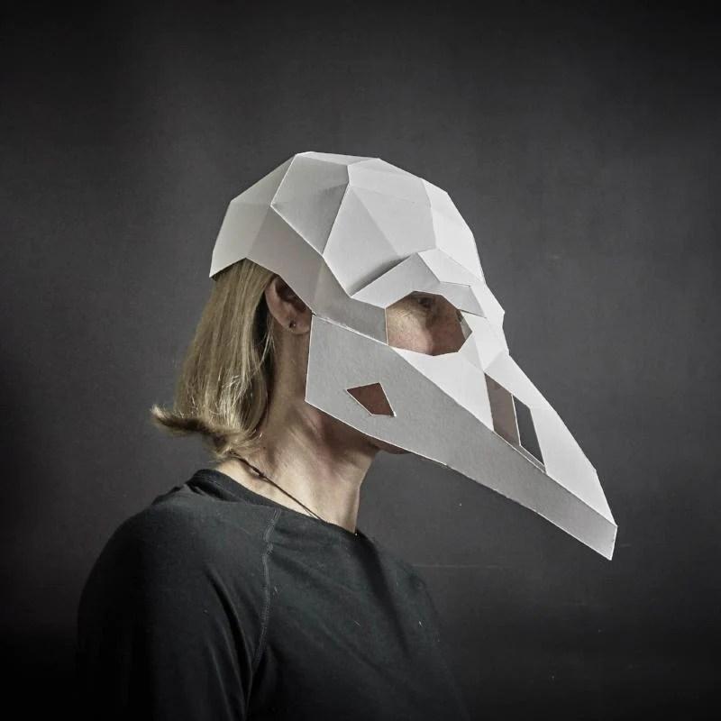 dead animal mask set