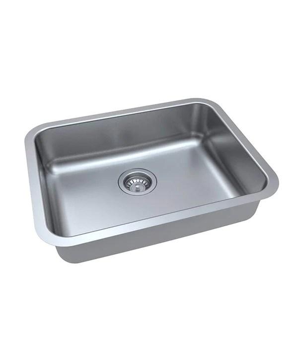 zuhne milan undermount ada handicap kitchen sink stainless steel 23 by 18 by 5 5 single bowl