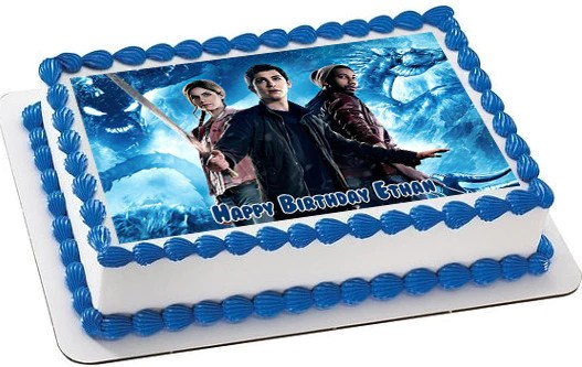 Percy Jackson 2 Edible Cake Topper  Cupcake Toppers