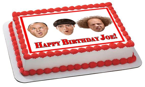 The Three Stooges 1 Edible Birthday Cake Or Cupcake Topper