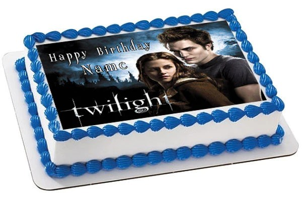 Twilight Edible Cake Topper Amp Cupcake Toppers Edible