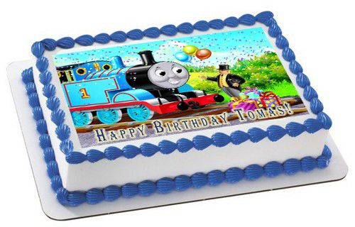 Thomas Train 1 Edible Birthday Cake Or Cupcake Topper Edible
