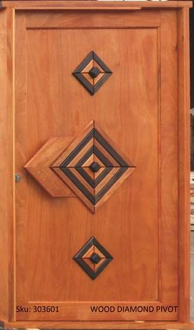 Wooden Door Pivot Set Diamond  Cashbuild