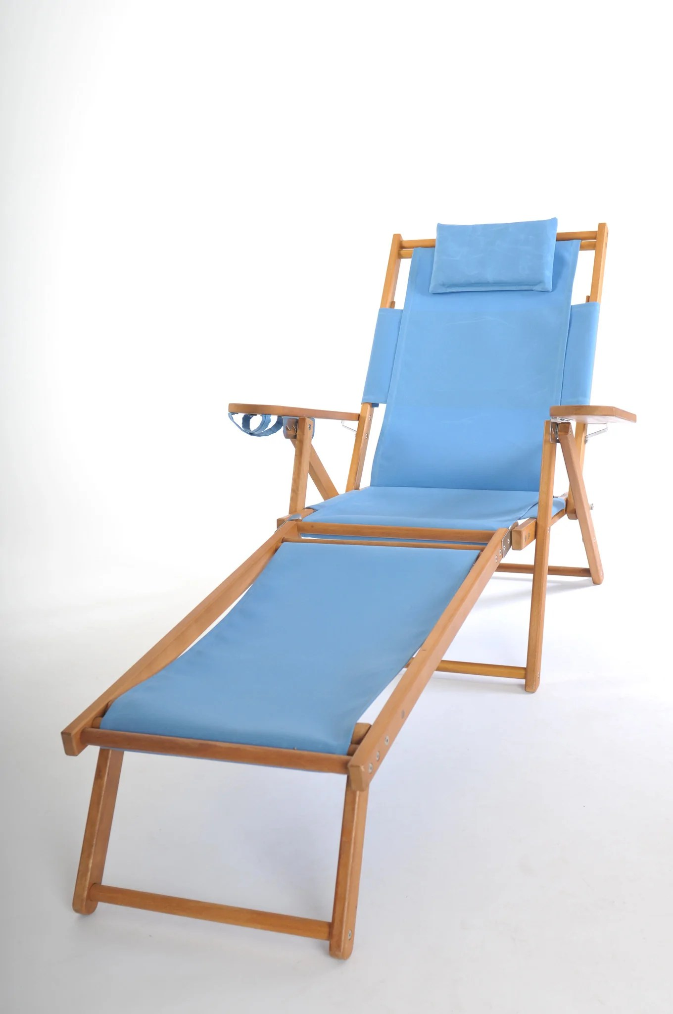 reclining beach chair with footrest wing slipcovers canada nauset recliner cape cod company